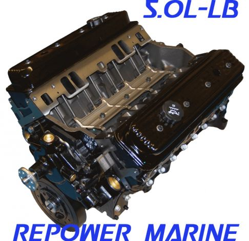 New 5.0L Marine Vortec Long Block