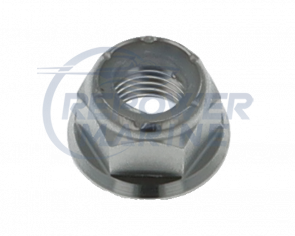 Lock Nut for Volvo Penta SX & DPS & OMC Cobra, Replaces 3853329