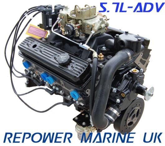 New 5.7L Marine Advanced Base Engine