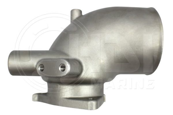Yanmar 4LH-STE  Stainless Exhaust Elbow, Repl: 119181-13500