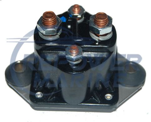 Solenoid for Mercury & Force Outboards, Replaces 89-817109A2