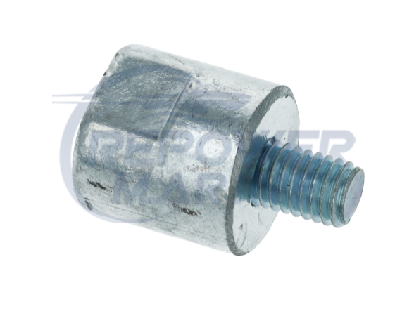 Zinc Anode for Yanmar 1GM, 1GM10, Repl: 27210-200200