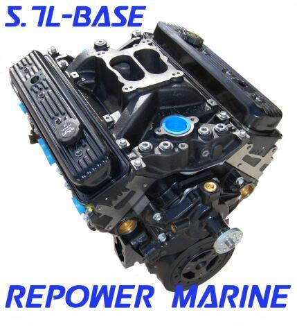 New 5.7L Marine Engine with 4BBL Intake Manifold