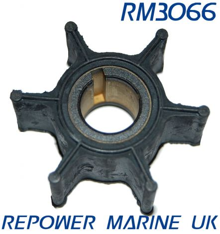 Impeller for Yamaha 6HP, 8HP 2 Stroke Outboard #: 6G1-44352-00-00