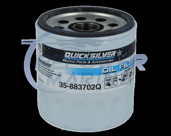Genuine Quicksilver Oil Filter 35-883702Q, Mercruiser 4.3L V6