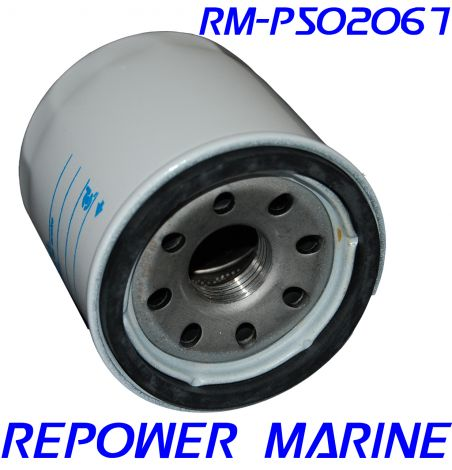 Oil Filter for Yanmar replaces 119305-35151, 1GM, 1GM10, 2GM, 2GM20, 3GM