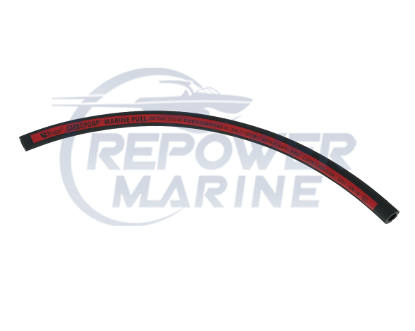 "10mm (3/8"") Marine Fuel Hose A1 Grade for Petrol & Diesel  (Per Meter)"