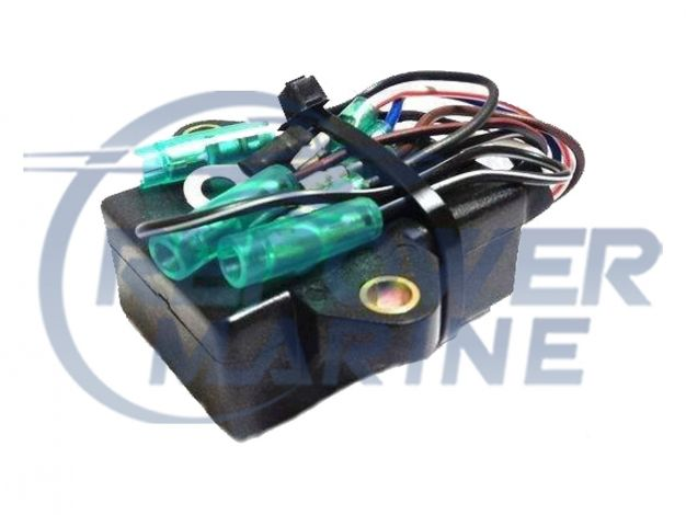 CDI Pack for Yamaha Outboard 9.9 & 15  HP 2 Stroke, Replaces: 63V-85540-00
