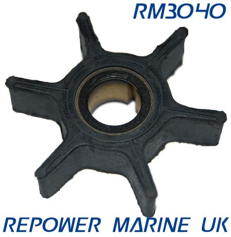 Impeller for Yamaha 8HP, 9.9HP, 15HP Outboard Replaces #: 63V-44352-01-00