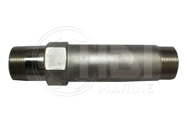 """9"""" Stainless Steel Exhaust Riser for Yanmar, Repl: 104214-13580"""