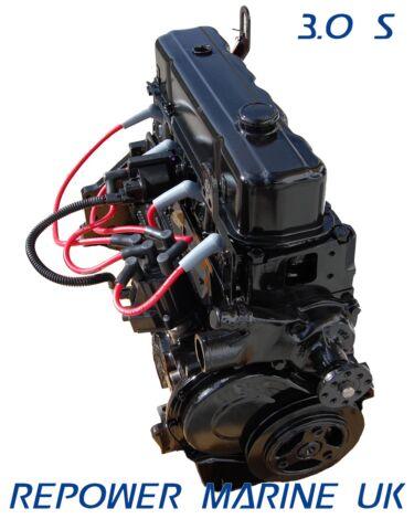 New 3.0L Four Cylinder Base Engine