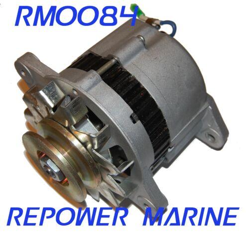 35 AMP Alternator for Yanmar Marine, Replaces 128170-77200