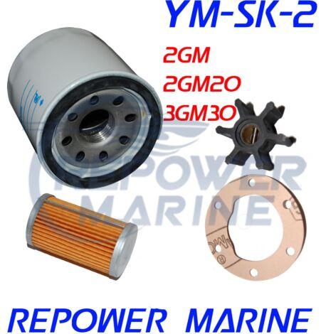 Service Kit 2 for Yanmar Marine 2GM, 2GM20, 3GM, 3GM30