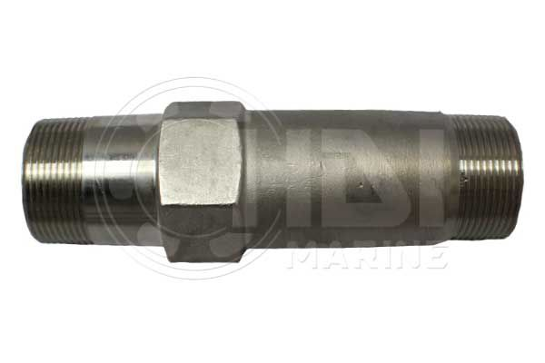 """7"""" Stainless Steel Exhaust Riser for Yanmar, Repl: 104214-13580"""