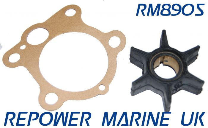 Impeller & Gasket for Yamaha 25, 30 ,40 ,50 HP Outboard Replaces: 6H4-44352-02-00
