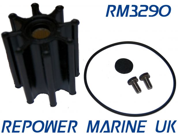 Impeller Kit for Volvo Penta D6, Replaces 3593573, 3819486