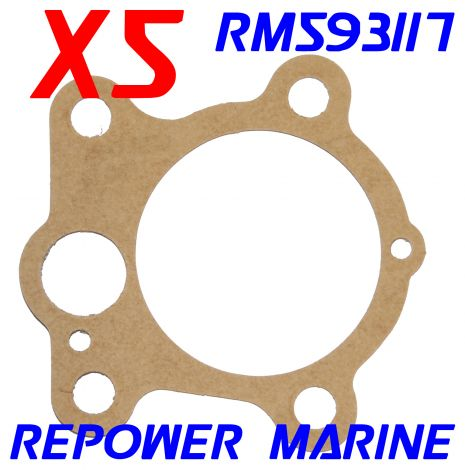 5 x Water Pump Gaskets for Yamaha Outboards 6H4-44352-02