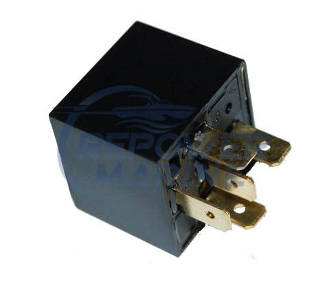 Relay for Volvo Penta & OMC, Replaces 3858809, 3858081