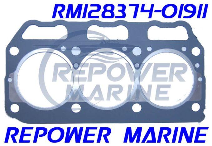 Head Gasket for Yanmar 3GM30 Series, Replaces: 128374-01911