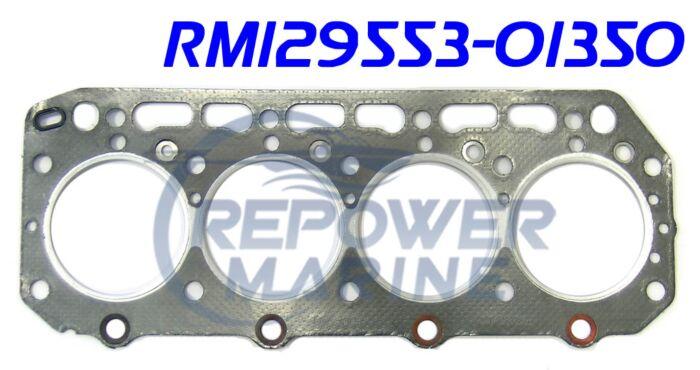 Cylinder Head Gasket for Yanmar 4JH, Repl: 129553-01350