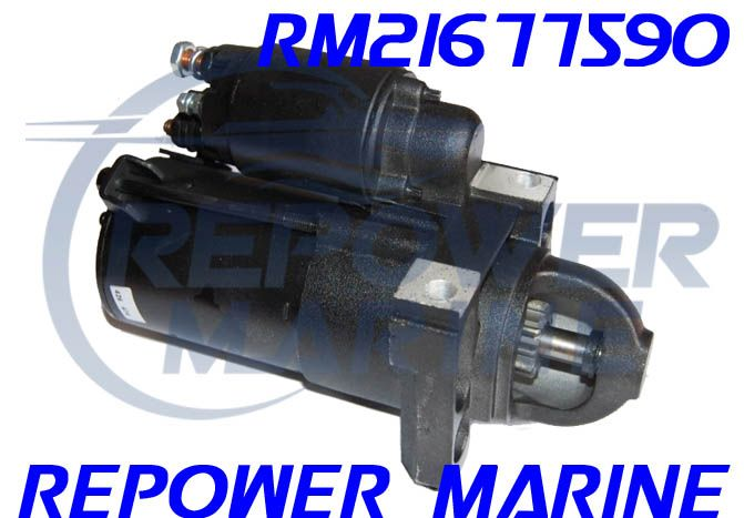 New Marine Starter for LT1, LS1, LQ9, 4.3L, 6.0L Volvo Penta, Indmar, PCM