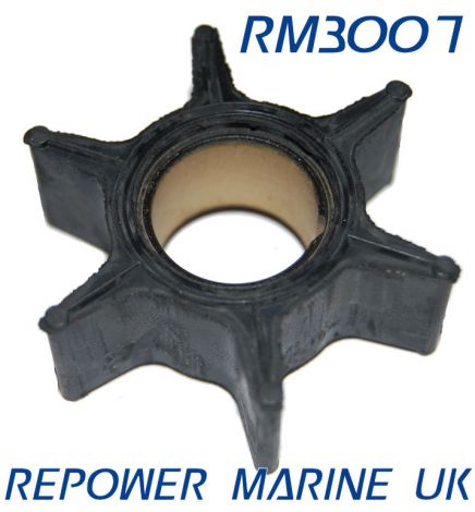 Impeller for Suzuki Outboard Replaces #: 17461-95201, DT55, DT65