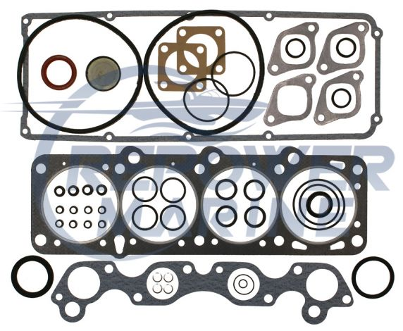 Head Gasket Set for Volvo Penta AQ131, AQ151, 230, 250, Replaces: 876302