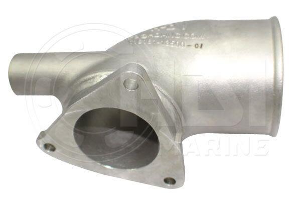 Yanmar 4LH-TE, 4LH-HTE, 4LH-HTZ Stainless Exhaust Elbow, Repl: 119171-13490