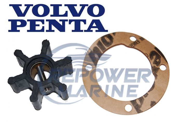 Genuine Volvo Penta Impeller 21951342, for 2001, 2002, 2003 Series