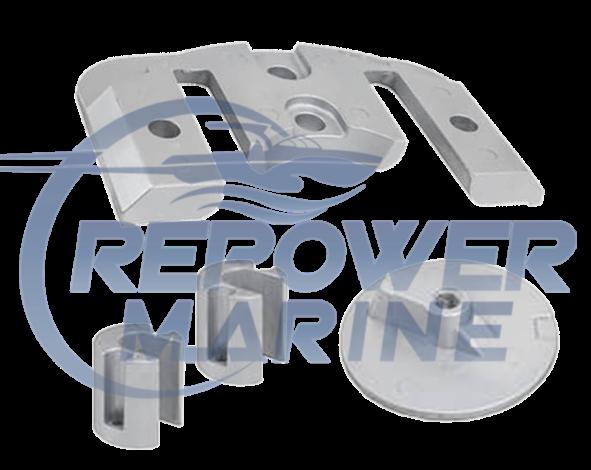 Zinc Anode Kit for Mercruiser Bravo 2 & 3, Repl: 888761A1