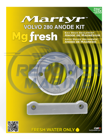 Martyr Magnesium Anode Kit for Volvo Penta 280 SP Sterndrive