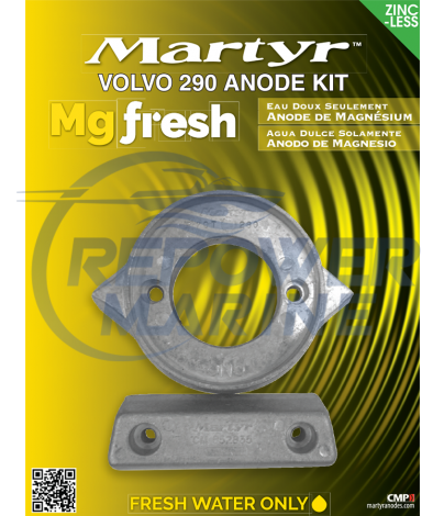 Martyr Magnesium Anode Kit for Volvo Penta 290 SP, SP