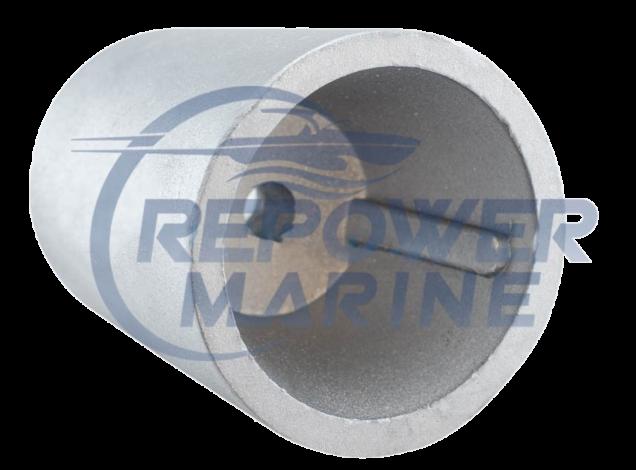 45mm Beneteau / Radice Conical  Prop Nut Zinc Anode