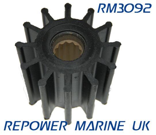Impeller Replaces Yanmar Marine #: 119773-42600-01