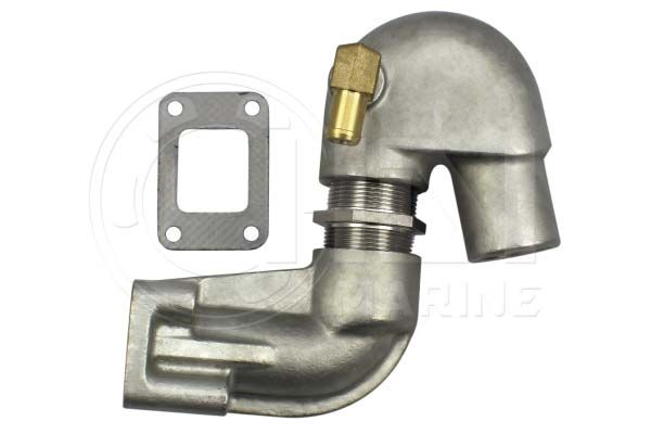 Stainless Steel Exhaust Elbow Kit for Yanmar Marine GM, YM, YSM