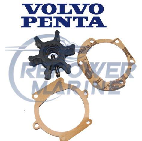 Genuine Volvo Penta Impeller 22222936, D1-13, D1-30, D-2, 2010, 2020, 2030, 2040