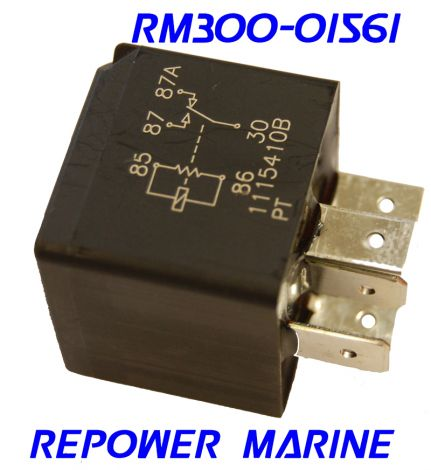12 Volt Relay for Volvo Penta & OMC, Replaces: 876037