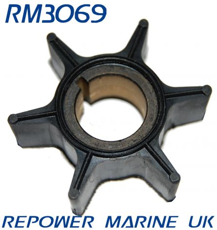 Impeller for Yamaha 40, 50, 60, 70 HP Replaces #: 6H3-44352-00-00, 697-44352-00-00