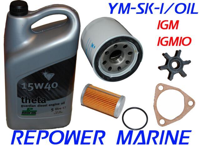 Service Kit & Oil for Yanmar Marine 1GM, 1GM10