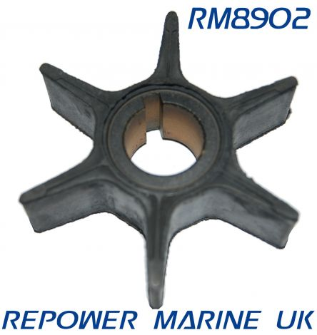 Impeller for Suzuki DT55 Outboard Replaces: 17461-94700