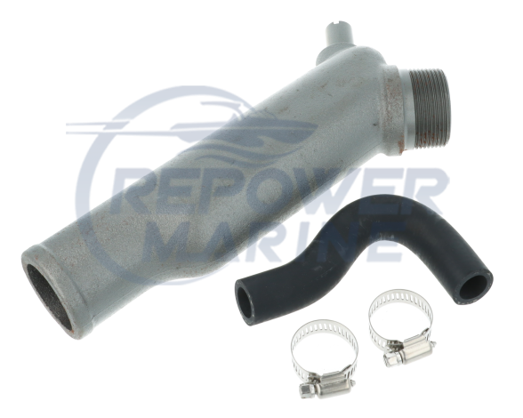 Exhaust Elbow for Yanmar2QM, 2QM20 Marine Diesel, Replaces 724770-13200