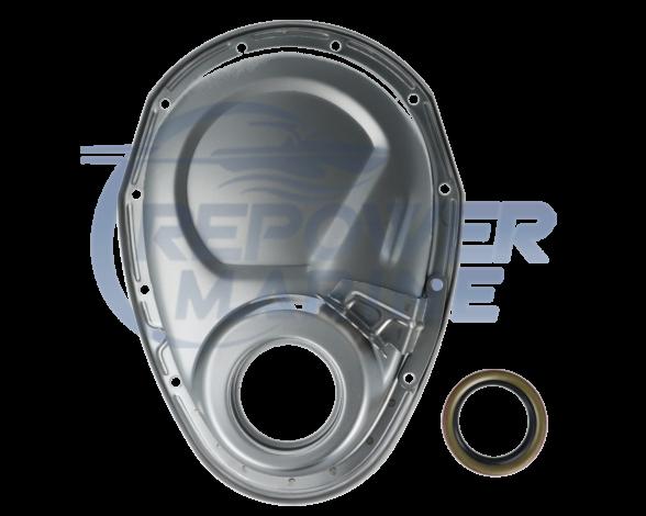 Steel Timing Chain Cover for 4.3L V6 & 5.0L, 5.7L V8, 8M0127828