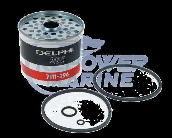 Genuine Delphi CAV 296 Pre Fuel Filter, Volvo Penta 3581078