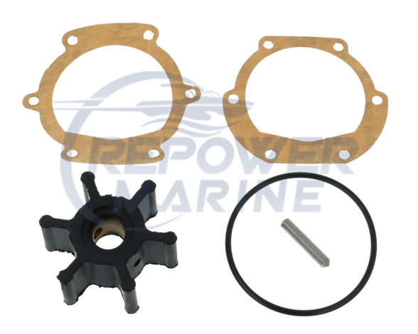Impeller & Gasket for Johnson Pump, Replaces #: 09-0810B