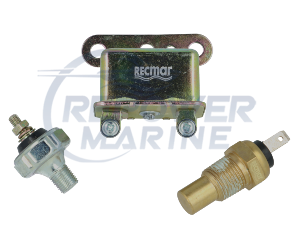 Oil Pressure & Temperature Audio Alarm Warning Kit