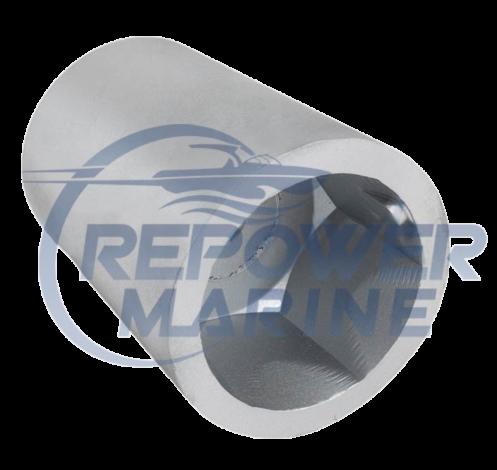 35mm Radice Hex Propeller Nut Zinc Anode