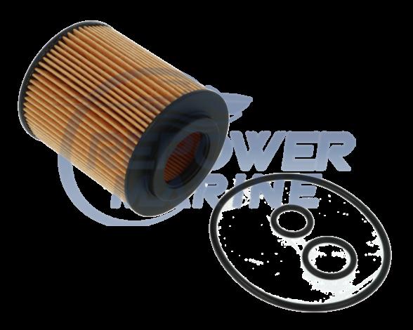 Oil Filter Element for Mercruiser 1.7L Diesel, Repl: 882687
