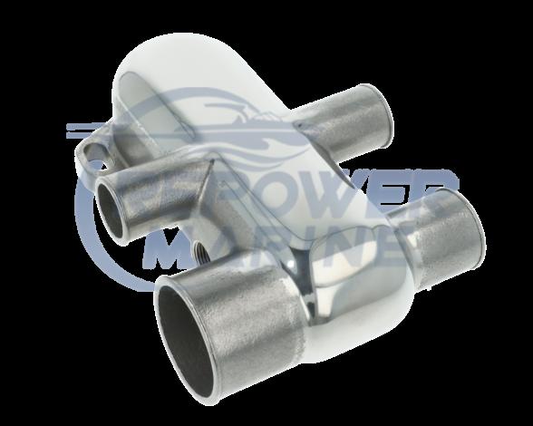 Stainless Steel Thermostat Housing Kit for Mercruiser V6 & V8 Bravo